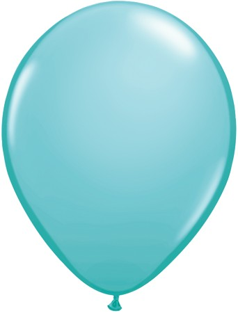 "Qualatex Fashion Caribbean Blue Karibik Blau12,5cm 5"" Luftballon"