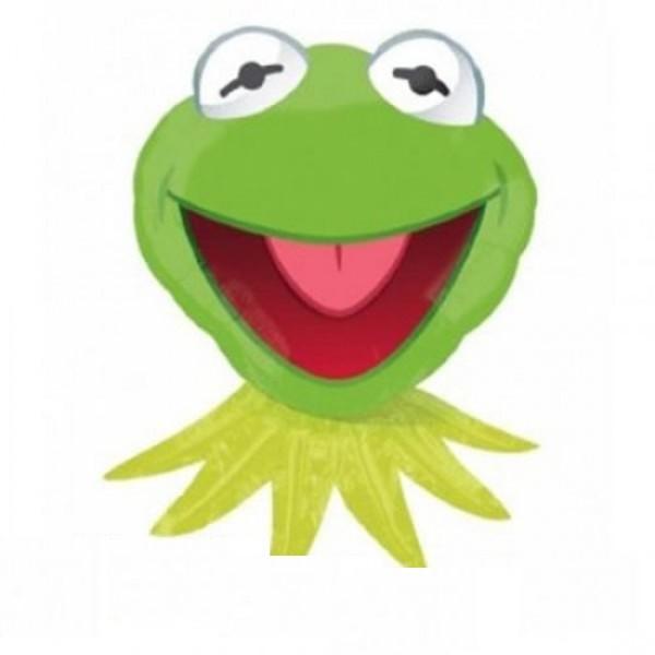 Kermit Frosch Muppets Show Folienballon - 76cm