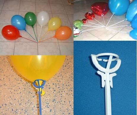 einteiliger Ballonstab inkl. Halterung