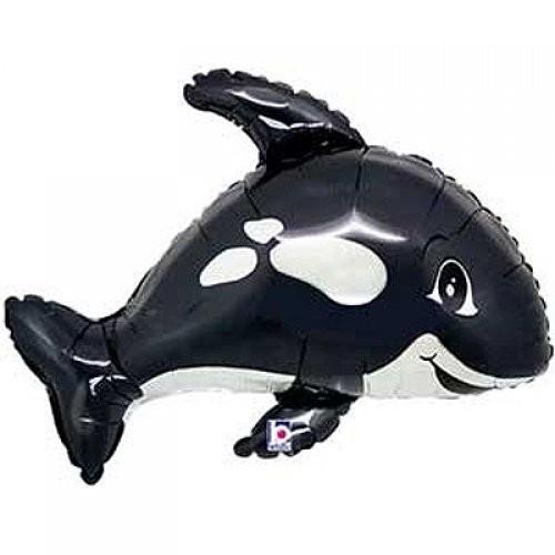 Orca Folienballon - 81cm