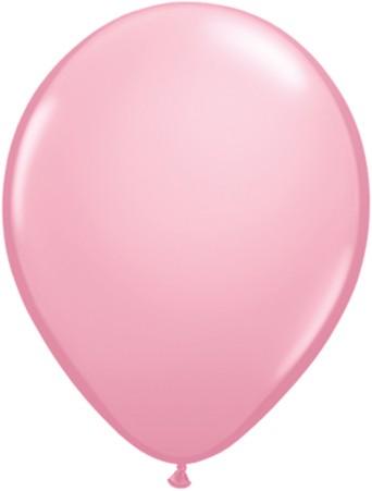 "Qualatex Standard Pink (Rosa) 27,5cm 11"" Latex Luftballons"