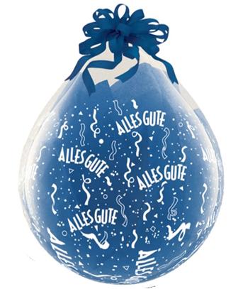 "Verpackungsballons Alles Gute 45cm 18"" Qualatex Stuffer"
