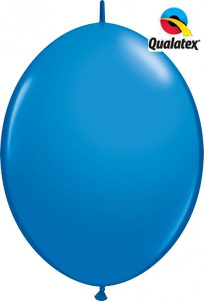 "QuickLink Standard Dark Blue (Blau) 30cm 12"" Latex Luftballons Qualatex"