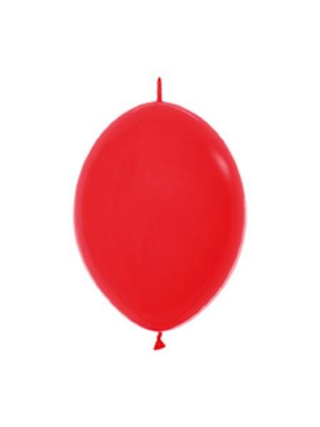 "Link o Loon 015 Fashion Red (Rot) 15cm 6"" Latex Luftballons Sempertex"