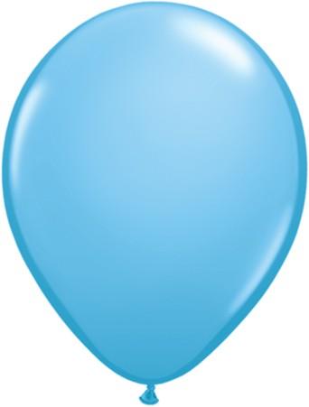 "Qualatex Standard Pale Blue (Blau) 27,5cm 11"" Latex Luftballons"