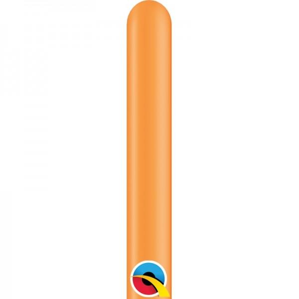 Qualatex 160Q Orange Modellierballons