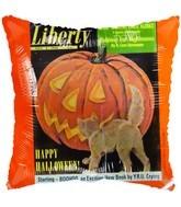 Folienballon Liberty Stamp Halloween - 45 cm