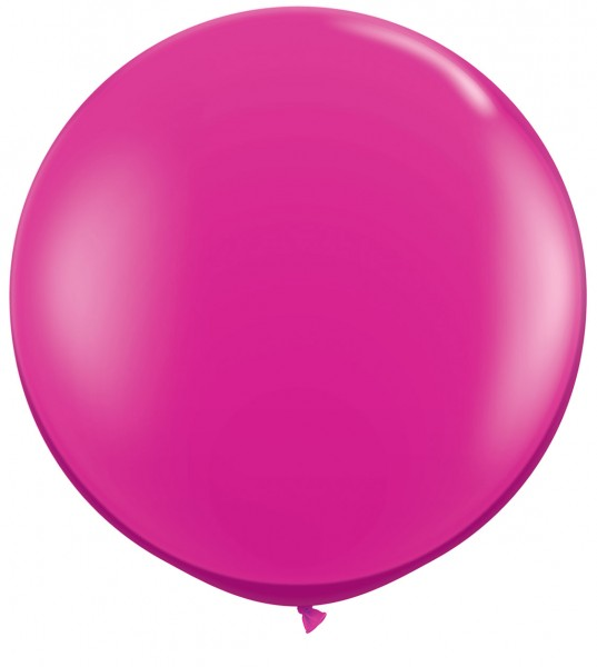 "Qualatex Jewel Magenta (Pink) 90cm 36"" Latex Riesenluftballons"