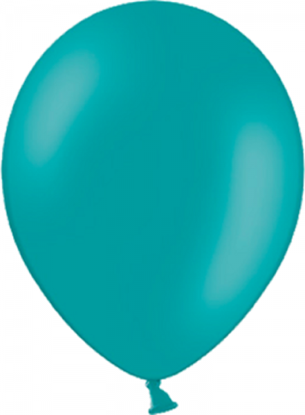 "Belbal Pastel Turquoise 013 (Türkis) 100 St. 27,5cm 11"" Latex Luftballons"