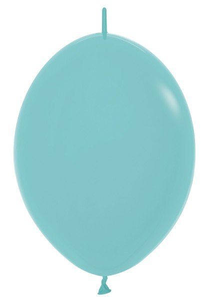 "Link o Loon 037 Fashion Aquamarine 30cm 12"" Latex Luftballons Sempertex"
