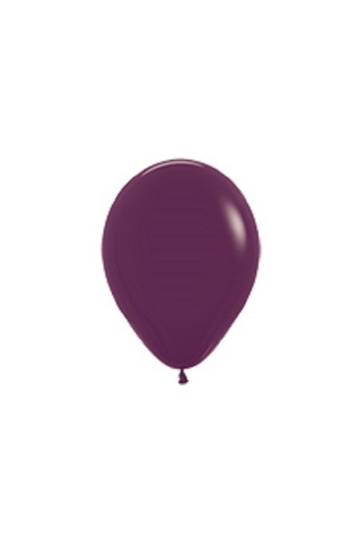 "Sempertex 018 Fashion Burgundy 12,5cm 5"" Latex Luftballons"
