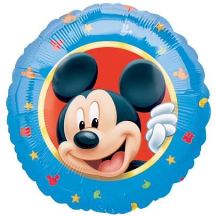 Folienballon Mickey Mouse Portrait - 45cm