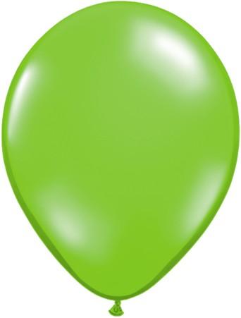 "Qualatex Jewel Lime Hellgrün 27,5cm 11"" Latex Luftballons"