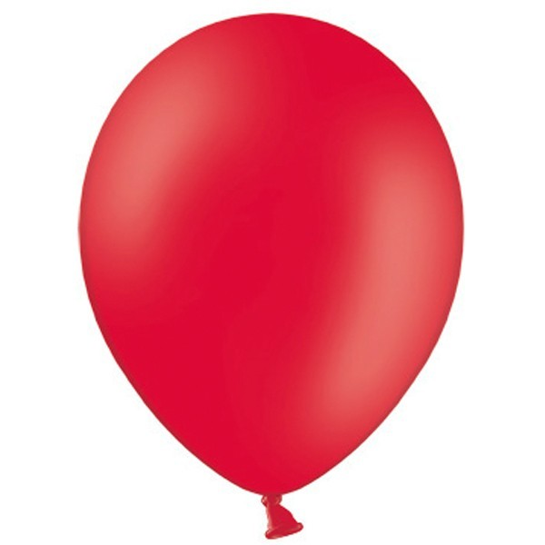 Latex Luftballons Pastel Red 101 (Rot) 100 St. - 27,5cm