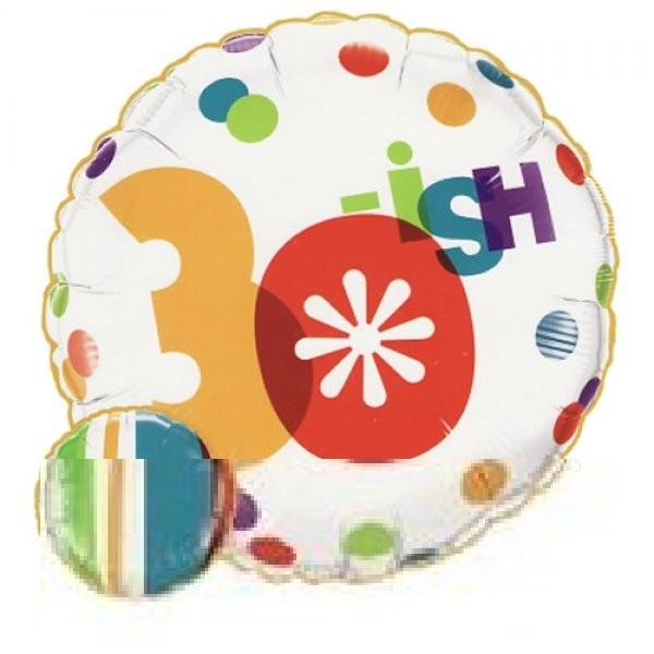 30.Geburtstag Folienballon - 45cm