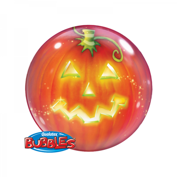 Qualatex Luftballons Halloween Jack Single Bubble - 61cm
