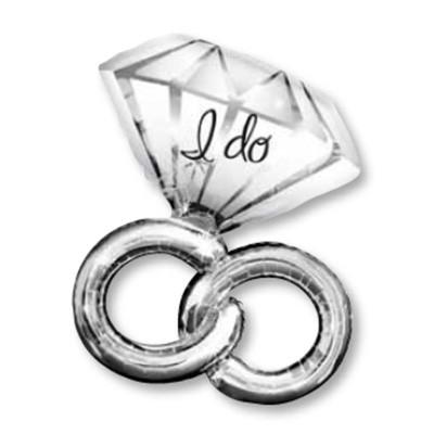 Hochzeit Ring I do Folienballon