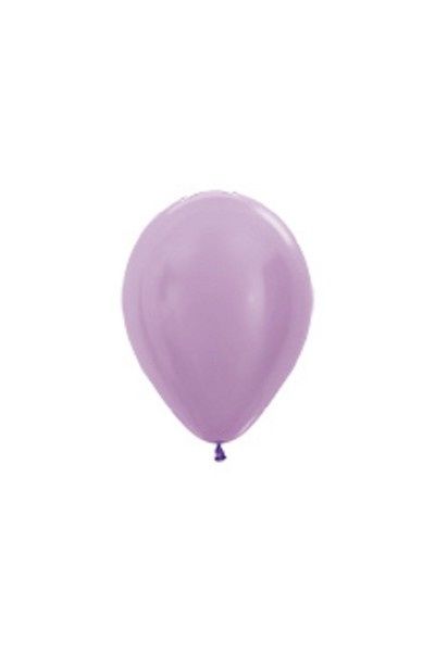 "Sempertex 450 Satin Pearl Lilac (Lila) 12,5cm 5"" Latex Luftballons"