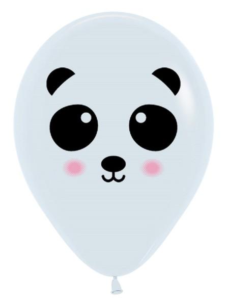 "Panda Face 30cm 12"" Latex Luftballons Sempertex"
