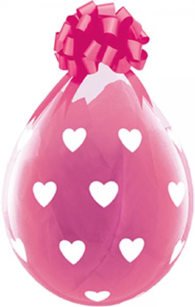 "Verpackungsballons Big Hearts 45cm 18"" Qualatex Stuffer"