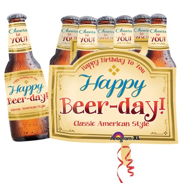 Happy Beer Day Folienballon