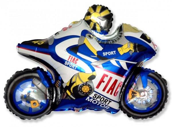Mini Folienballon Motorrad 35cm