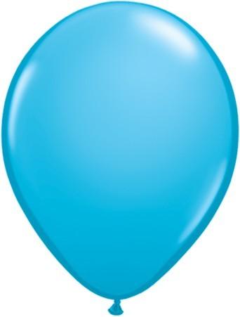 """Qualatex Fashion Robins Egg Blue (Blau) 27,5cm 11"""" Latex Luftballons"""