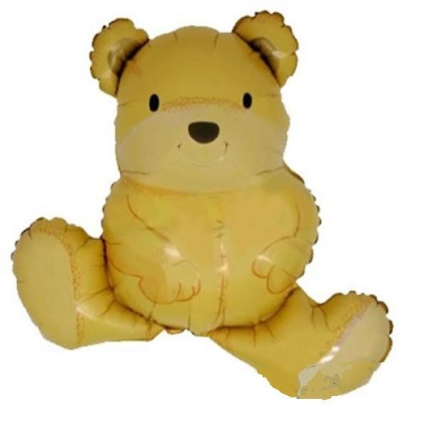 Teddybär Folienballon - 76cm