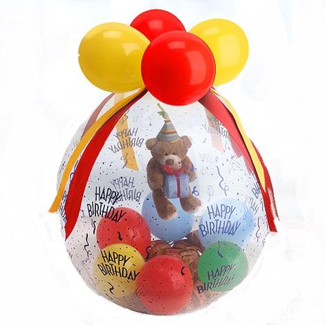 Verpackungsballon Beispiel