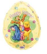 Folienballon Pooh with Friends Osterei - ca 76 cm