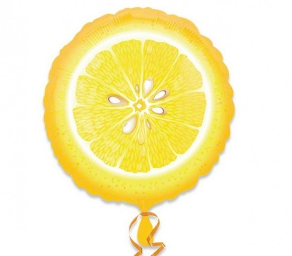 Zitrone Folienballon