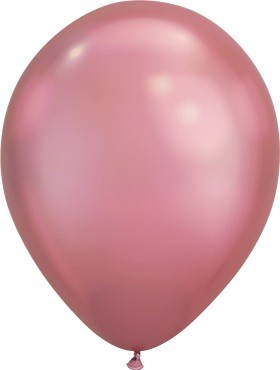 "Qualatex Chrome Mauve (Lila) 18cm 7"" Latex Luftballons 100 Stück"