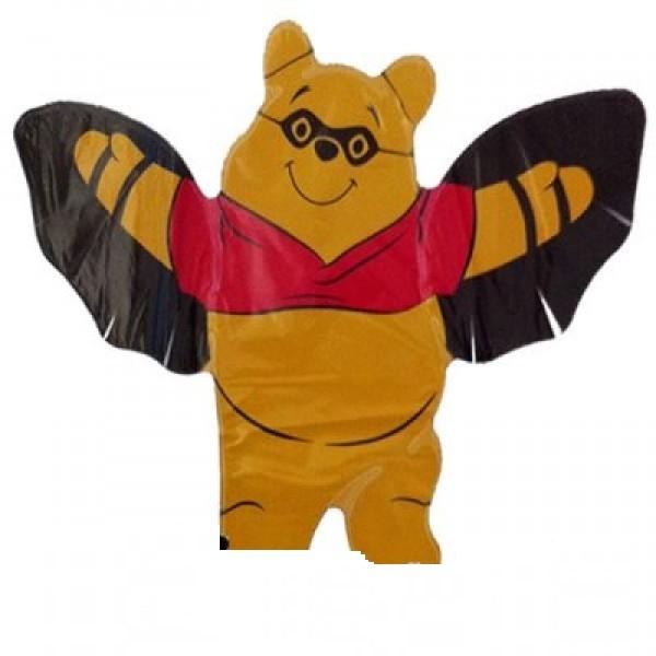 Mini Folienballon Winnie Pooh Halloween - 35cm