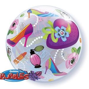 "Qualatex Bubble Shopping 22"" 56cm Luftballon"