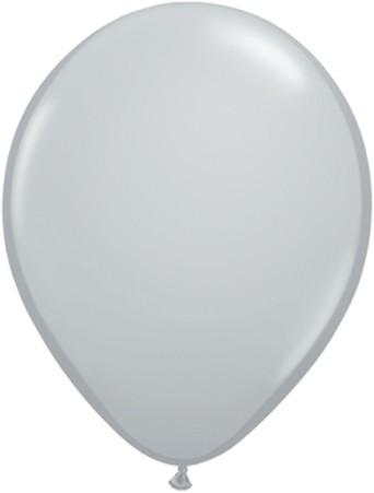 """Qualatex Fashion Grey (Grau) 27,5cm 11"""" Latex Luftballons"""