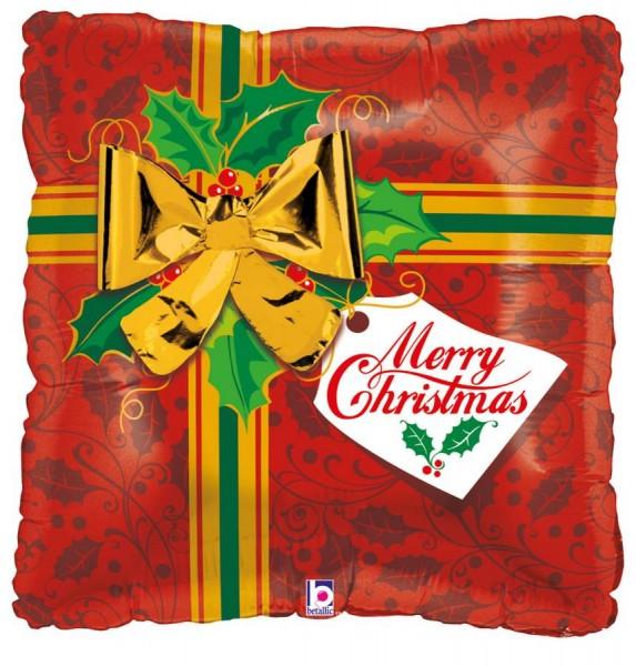 Geschenk Merry Christmas Folienballon
