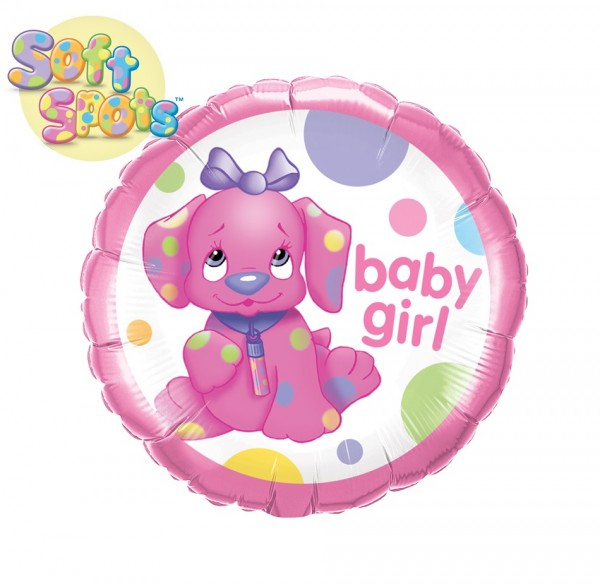 Baby Girl / Beauty Spot Folienballon - 45cm