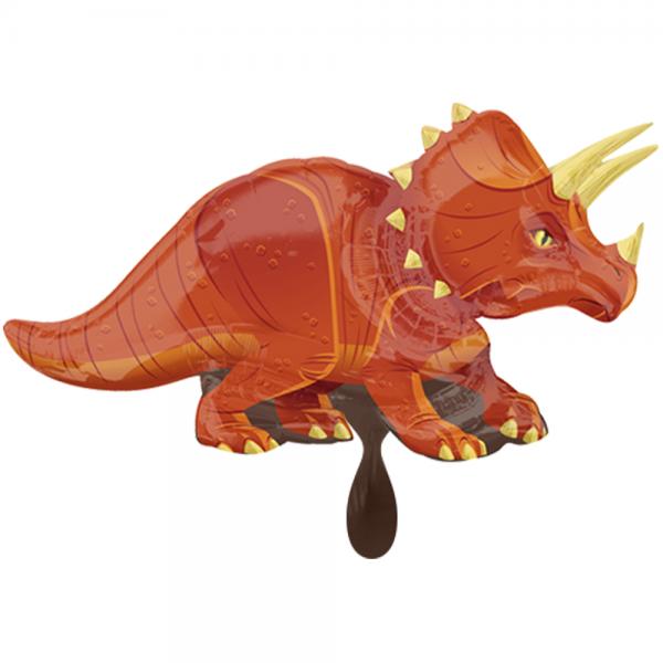 Triceratops Dinosaurier Folienballon - 106cm 42''