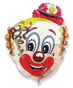 Clown Kopf Folienballon - 76cm