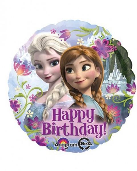 Happy Birthday Frozen Folienballon - 43cm
