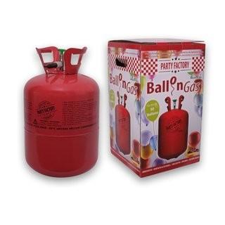 Ballongas Helium Einwegzylinder (Pfandfrei) + Füllventil