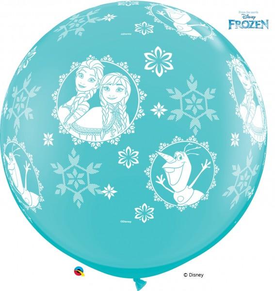 "Riesenluftballon Anna, Elsa und Olaf 90cm 36"""