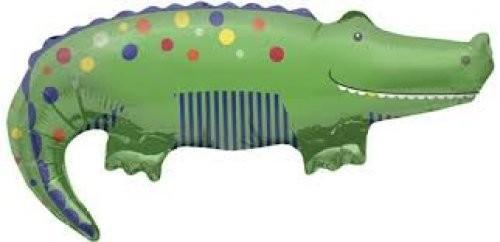 Mini Folienballon Krokodil - 35cm