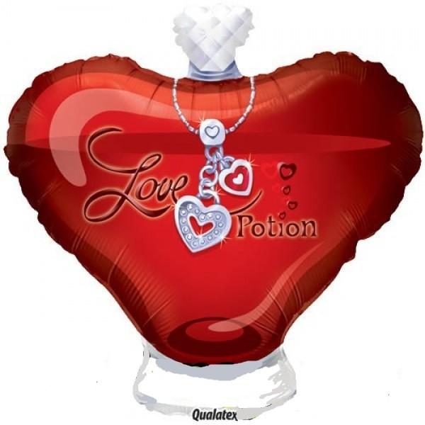 Parfum Flakon Love Potion Folienballon - 61cm