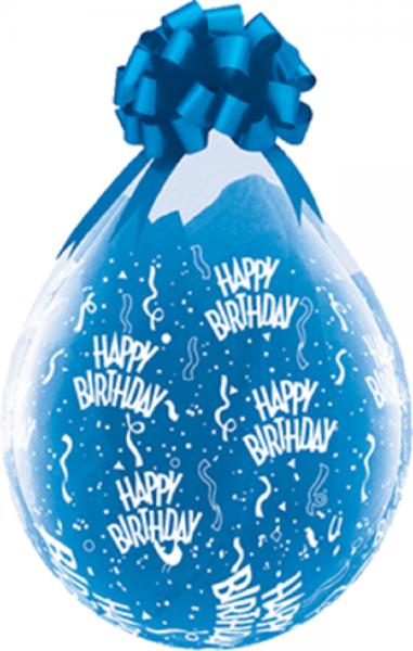 "Verpackungsballons Happy Birthday 45cm 18"" Qualatex Stuffer"