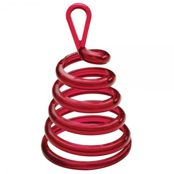 Spiralengewicht rot für Luftballons