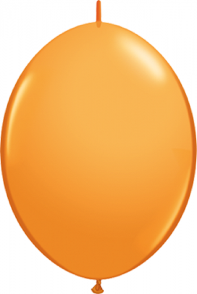 """Qualatex QuickLink Orange 15cm 6"""" Luftballons"""