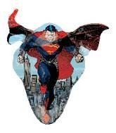 Fliegender Superman Comicfigur Folienballon - 104cm