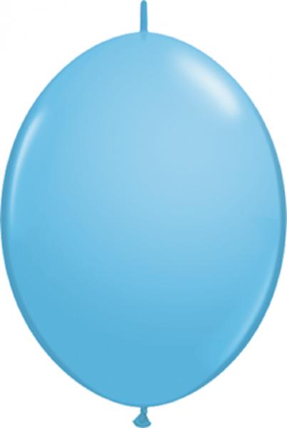 "QuickLink Standard Pale Blue (Blau) 15cm 6"" Latex Luftballons Qualatex"