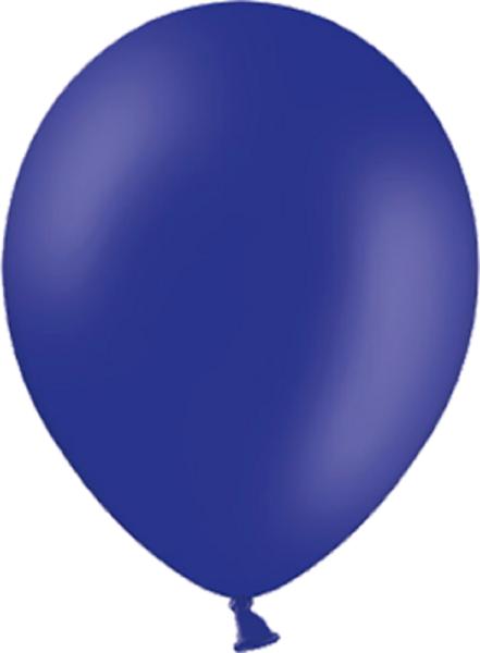 "Belbal 012 Pastel MId Blue Dunkelblau 12,5cm 5"" Latex Luftballons"
